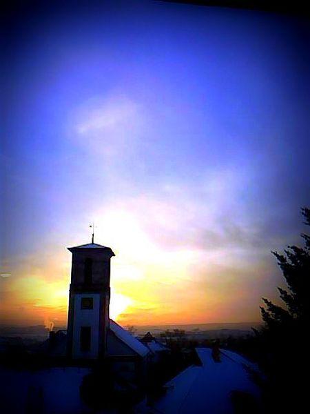 Turm, Sonnenuntergang, Licht, Fotografie