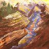 Acrylmalerei, Freiheit, Expressionismus, Malerei