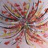 Malerei abstrakt, Bunt, Gemälde, Malerei