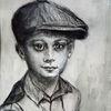 Portrait, Übungsfahrten, Mit schirmmütze, Junge