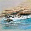 Meer, See, Pastellmalerei, Malerei
