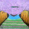 Pflanzen, Kirschblüte, Fantasie, Abstrakte malerei