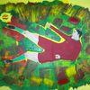 Comic, Abstrakte malerei, Sport, Menschen