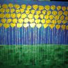 Fantasie, Abstrakte malerei, Blumen, Landschaft