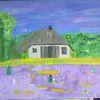 Fantasie, Heide, Natur, Hütte