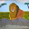 Abstrakte malerei, Tiere, Comic, Malerei