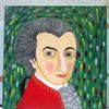 Portrait, Comic, Fantasie, Abstrakte malerei