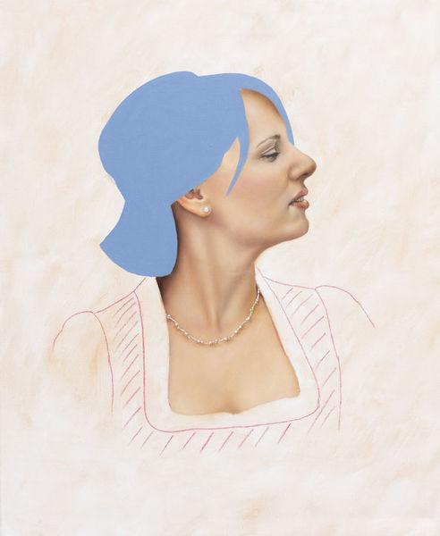 Portrait, Menschen, Ölmalerei, Fotorealismus, Malerei