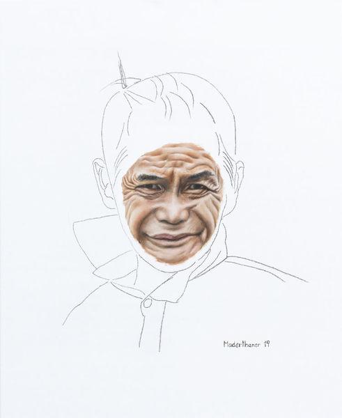 Menschen, Ölmalerei, Portrait, Fotorealismus, Malerei