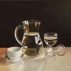 Studie, Tasse, Fotorealismus, Glas