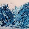 Blau, Ozean, Untergang, Malen