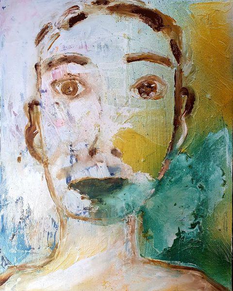 Jung, Grün, Malerei