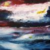 Beyound, Horizont, Abstrakt, Malerei