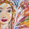 Frau, Frei, Neuanfang, Malerei