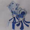 Venezianische maske, Venedig, Zeichnung, Karneval