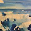 See, Atmosphäre, Meer, Malerei