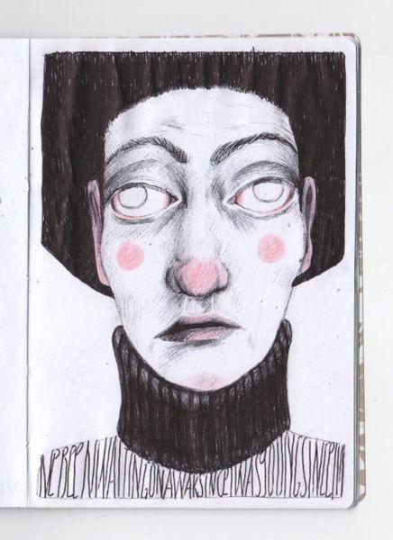 Zeichnung, Schwarz, Weiß, Kopf, Zeichnungen