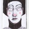 Zeichnung, Schwarz, Weiß, Kopf