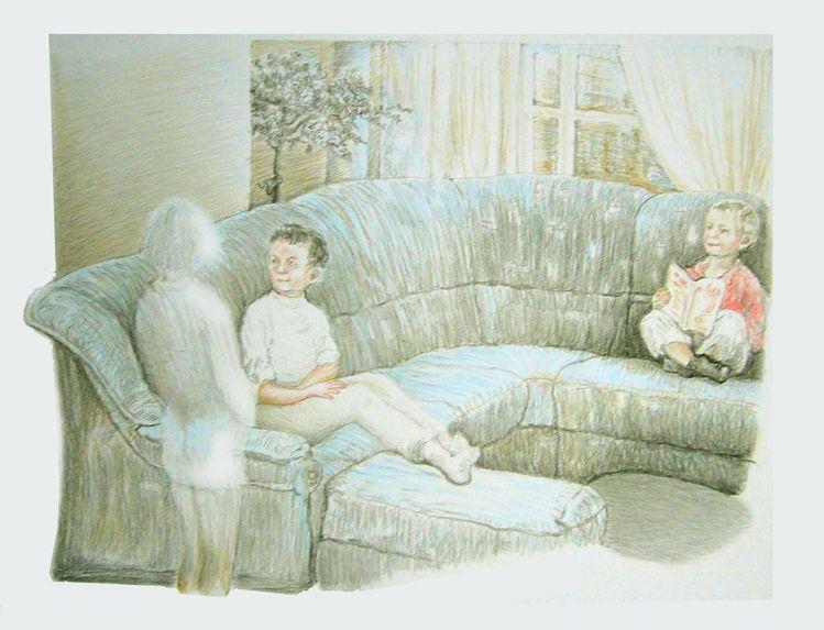 Kinder, Interieur, Inneneinrichtung, Zimmer, Farben, Menschen