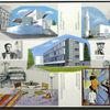 Bauhaus, Kirche, Schlemmer, Ölmalerei