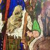 Publikum, Zaun, Geburt, Kreuz