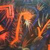 Rot, Bunt, Ausdruck, Malerei