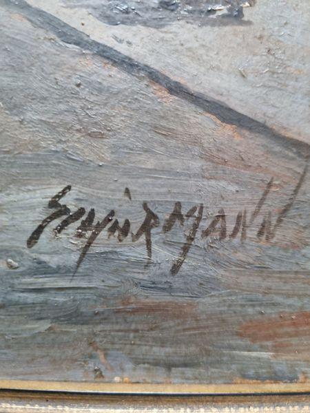 Pinnwand, Signatur
