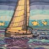 Wasser, Blau, Segelboot, Meer