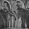Korinthisches kapitell, Griechisch, Malerei marcel heinze, Zeichnung