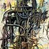 Leitung, Weg, Labyrinth, Malerei
