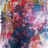 Bunt, Zerlaufen, Bewegung, Malerei