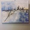 Landschaft, Meer, Malerei, Wind