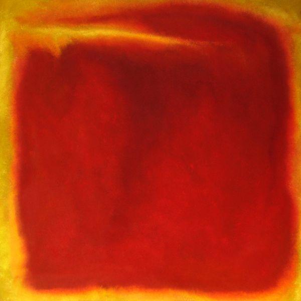 Colorfield painting, Farbfeld malerei, Malerei, Feld, Orange