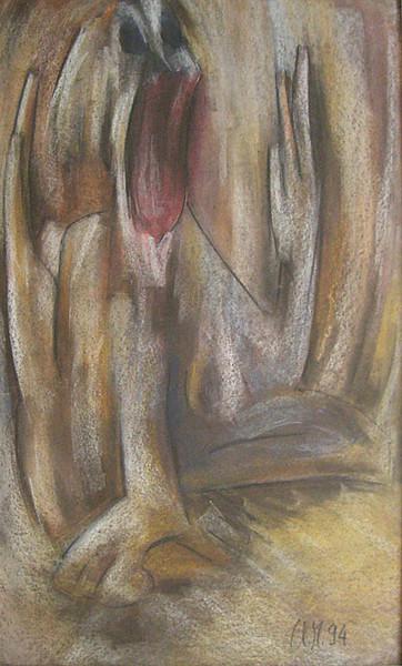 Malen, Expressionismus, Pastellmalerei, Acrylmalerei, Kosovo, Tschetschenien