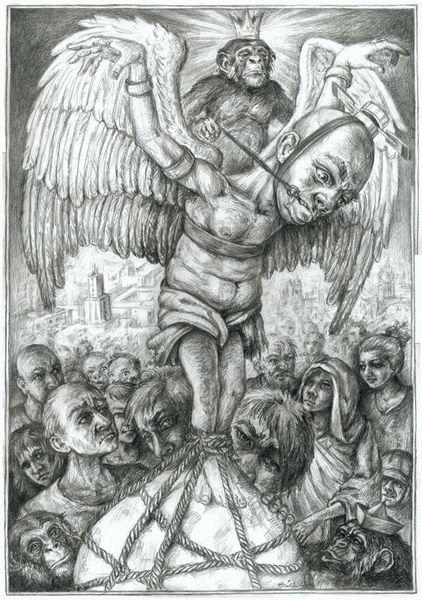 Ikarus, Männlichkeit, Fliegen, Abheben, Zeichnungen
