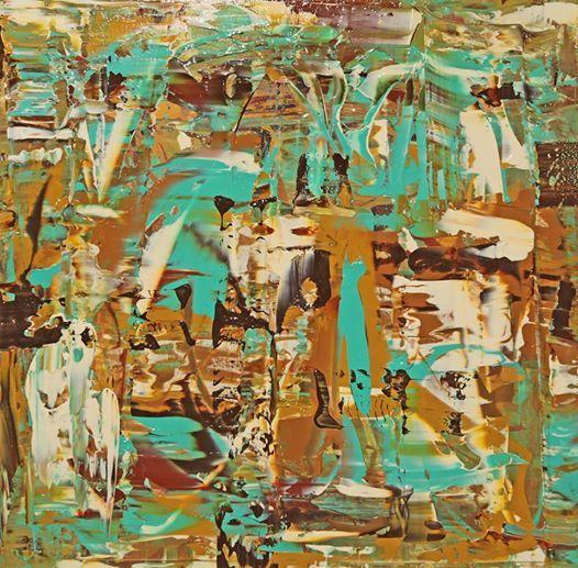 Image bunt hoffnung abstrakt malerei von michael pfannschmidt on kunstnet - Abstrakte bilder leinwand ...