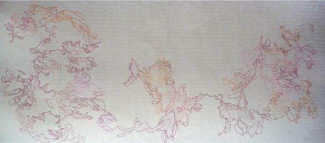 Baum, Buntstiftzeichnung, Zeichnung, Schatten, Zeichnungen, Pflanzen