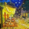 Nachtcafé, Licht, Nacht, Straße