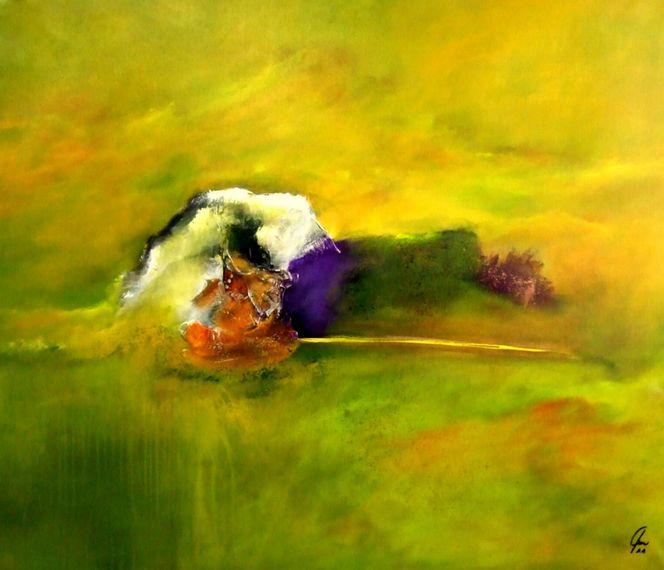 Zuversicht, Neubeginn, Hoffnung, Malerei, Abstrakt