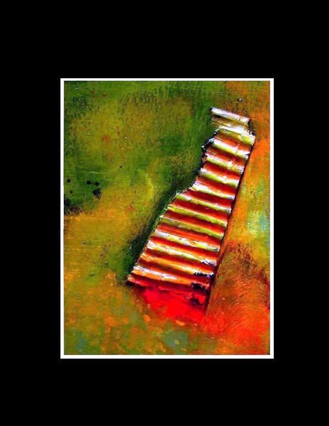Stairways, Himmel, Hoffnung, Leben, Zuversicht, Malerei