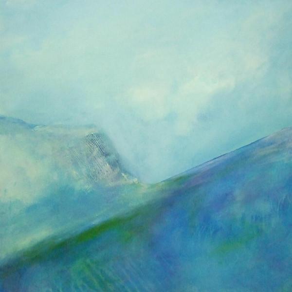 Natur, Umweltzerstörung, Erderwärmung, Malerei, Abstrakt, Balance
