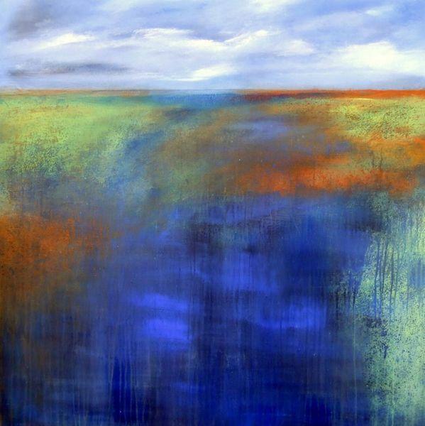 Neubeginn, Zukunft, Wende, Malerei, Abstrakt