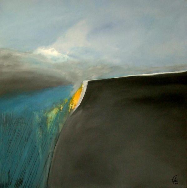 Zuversicht, Hoffnung, Malerei, Abstrakt