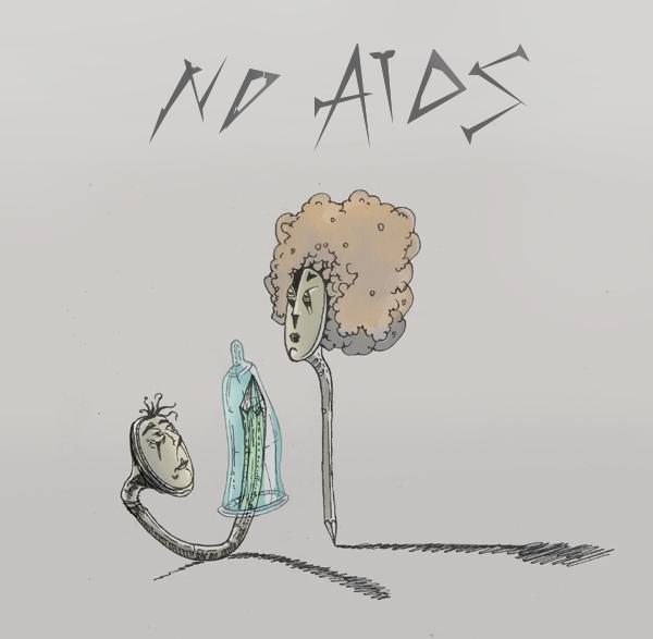 Die Dusche Farin Urlaub : Bild: Aids, Skizze, Grafik, Skizzen von Stas Rosin bei KunstNet