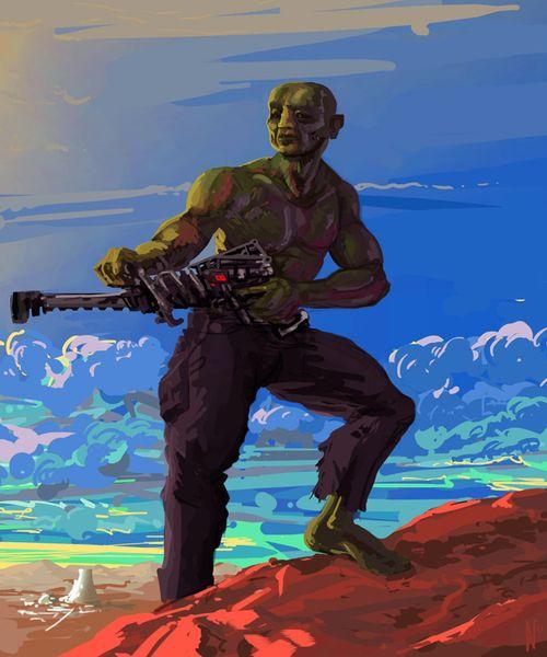 Grün, Atom, Waffe, Fallout, Wasteland, Berge