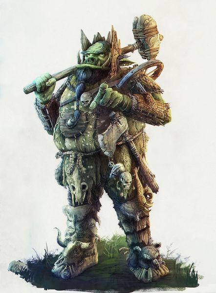 Hammer, Rollenspiel, Orc, Fantasie, Axe, Character design