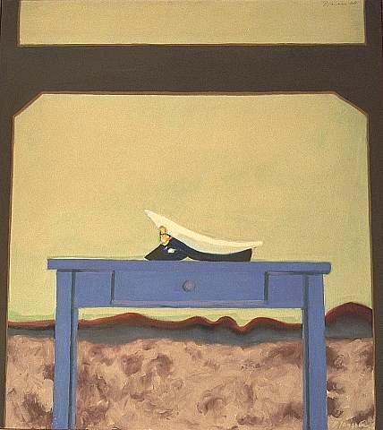 bild m tze 1968 k nstler d sseldorf von peter janssen. Black Bedroom Furniture Sets. Home Design Ideas