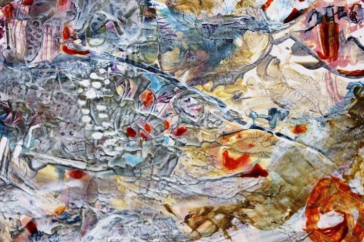 Farben, Traum, Abstrakt, Acrylmalerei, Malerei, Malerei ii