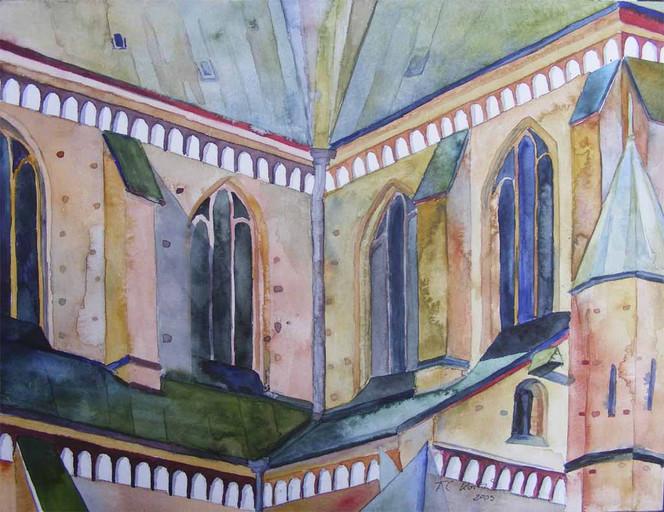 Rostock, Zisterzienser, Backstein, Architektur, Gotik, Kirche