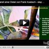Aquarell einer Distel von Frank Koebsch - step by step